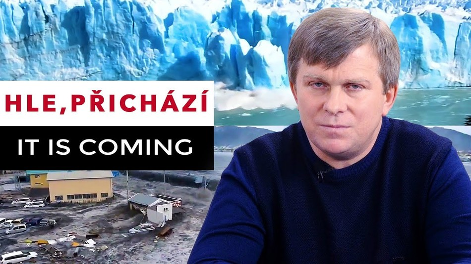 Hle, přichází. It is coming.